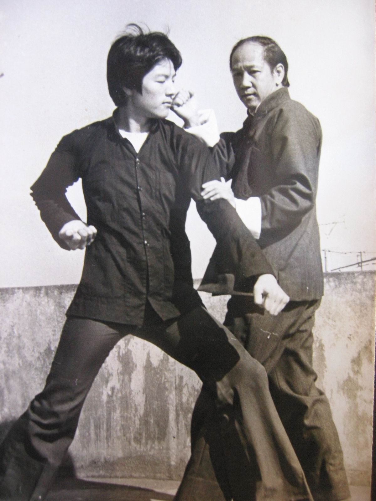 Sifu Lo Man Kam in the early 70ties